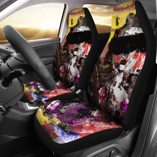 Car seat covers blindfold