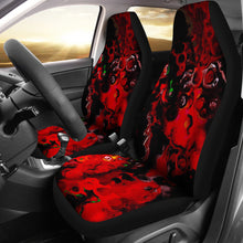 car seat covers abstract art 2