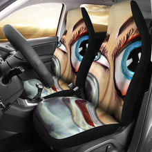 Car seat covers Face in water abstract