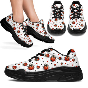 Chunky Sneakers lady bug