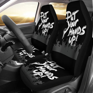 Car seat covers put your hands up w/b