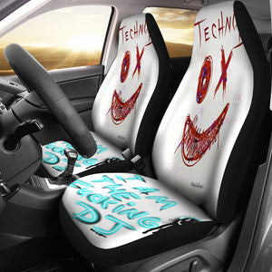 Car seat covers techno