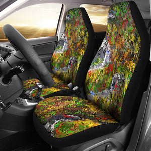 Car seat covers The famous dragon tail route Tn
