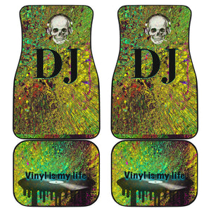 Car floor mats front and back dj Vinyl