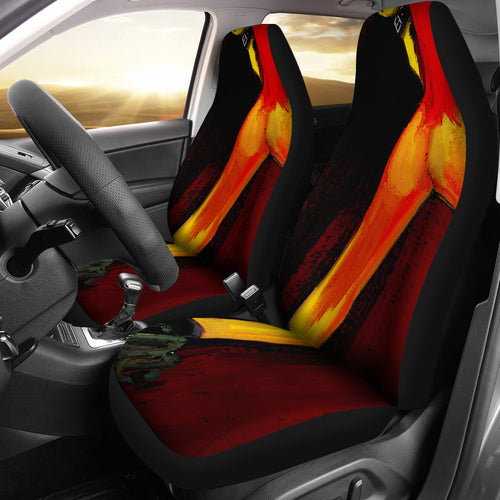 Car seat covers cuffed