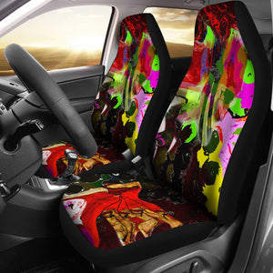 Car seat covers Abstract mistress dom2