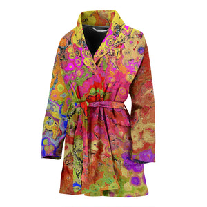 Womens robe  abstract13