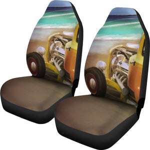 Car seat covers Hotrod on The beach