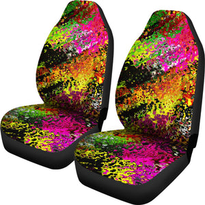 Car Seat covers Abstract burst