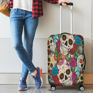 Luggage covers Sugar Skull