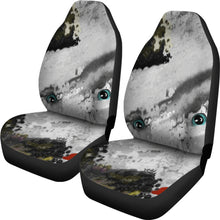 Car seat covers Face abstract