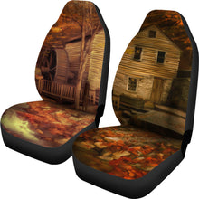 Car seat covers Gristmill 1 art