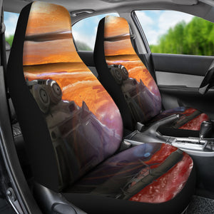Car seat covers Military helicopter color