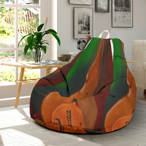 Bean bag chair in the middle