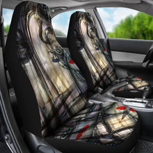 Car seat covers Borg abstract art