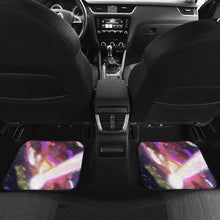 Car floor mats front and back space
