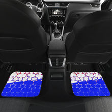 Car mats front and back Ammo and patriotic