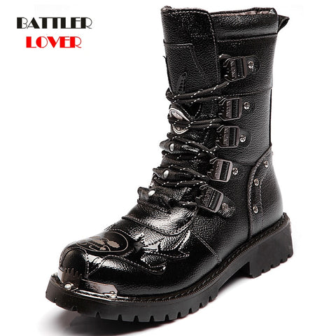 Motorcycle Boots Male Boots