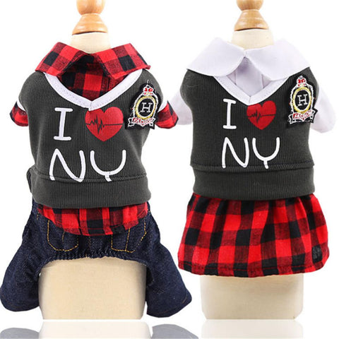 Pet Dog Clothes For Small Dogs Cats Pets Clothing