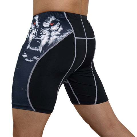 Mens Gym Wear Fitness Training Shorts Men Dry Fit Running