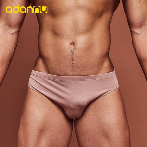 Fashion Men Underwear Sexy Men Briefs Thin Section Breathable Modal Soft Cool Low Waist Underpants Quick Dry