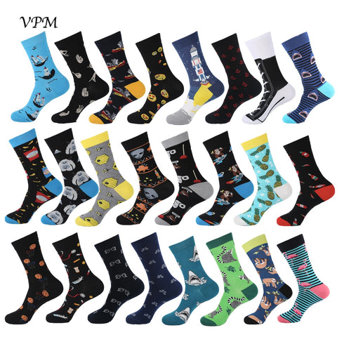 VPM 2019 New Hiphop Cotton Men's Socks