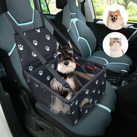 Travel Dog Car Carrier Seat Cover Folding Hammock Pet Carriers