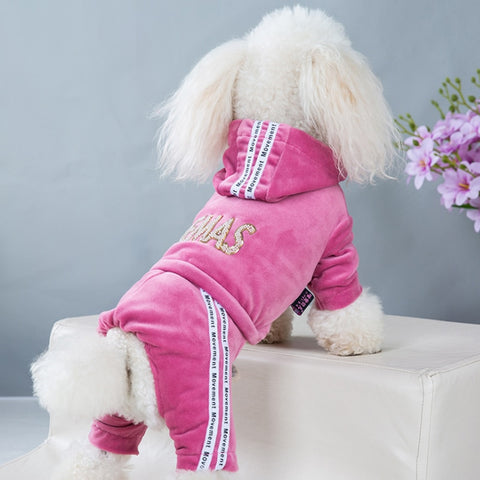 Fashion letter Pet Dog Clothes for Dogs Coat Hoodie Sweatshirt