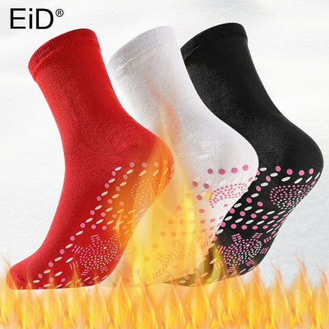 Self-heating Magnetic Socks insoles for Women Men Self Heated Socks Tourmaline Magnetic Therapy