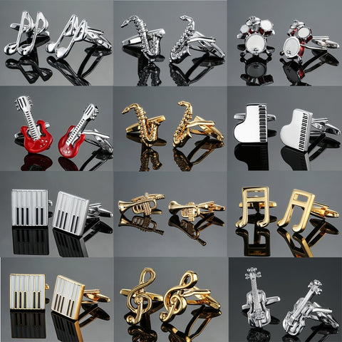 DY  new high quality brass musical instruments Sax trumpet drum piano violin music symbol