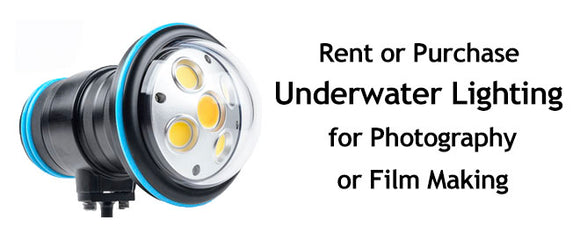 Rent Underwater Camera and Lighting Hollywood Divers