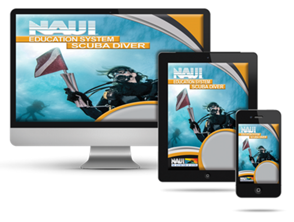 Digital NAUI Scuba Diver Course Materials