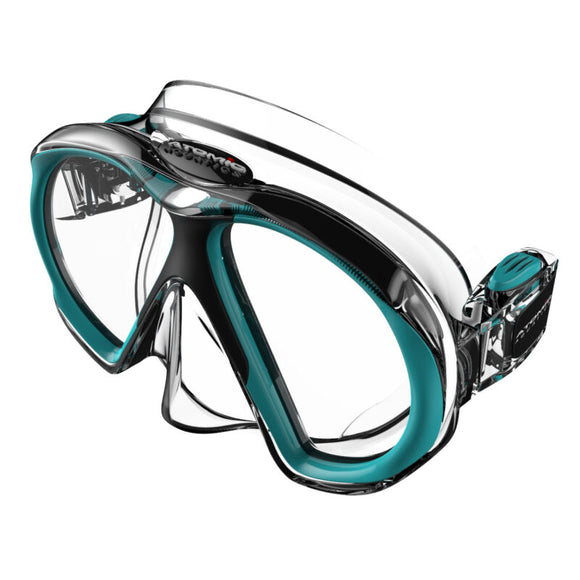SubFrame Mask, Slim Fit, Clear/Aqua