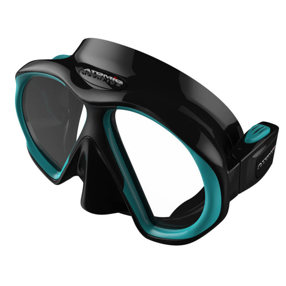 SubFrame Mask, Slim Fit, Black/Aqua