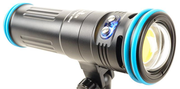 Video Light for Scuba