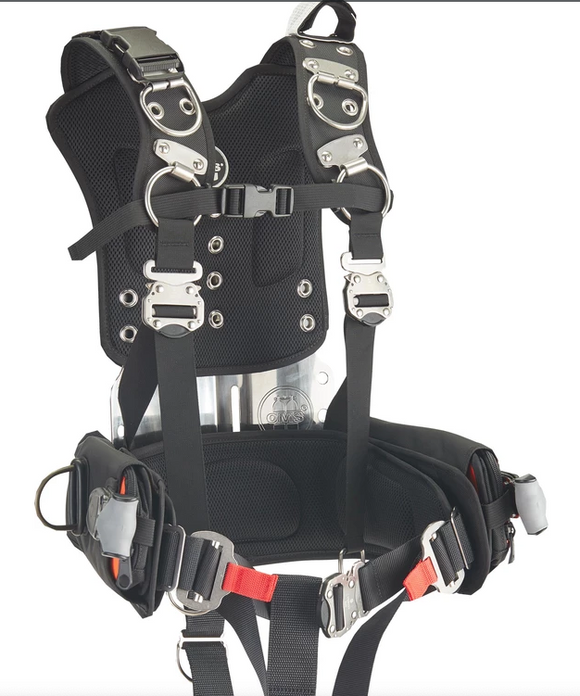 OMS PUBLIC SAFETY HARNESS COMPLETE W/ WEIGHT POCKETS Demo