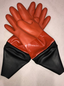 Dry 5 Glove Large Drysuit Glove Orange with seal and liner