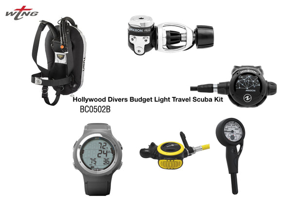 The T-Wing Scuba Travel Package