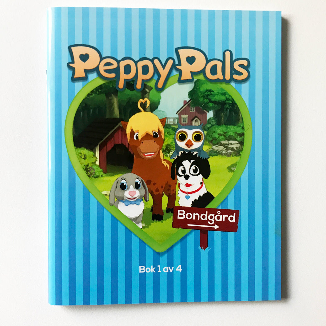 Peppy Pals Bondgård - Stickersbok 1 av 4