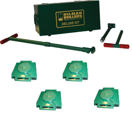 Hilman 24 Ton Swivel Diamond Top Bull Dolly Kit with Nylon Wheels