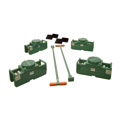 Hilman FT Series Sets 120 Ton Swivel Locking Padded Top