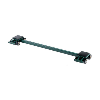 Hilman Individual Tri-Glide 3 Point Load Moving Rear Dollies, 7.5 Ton, Poly Wheels