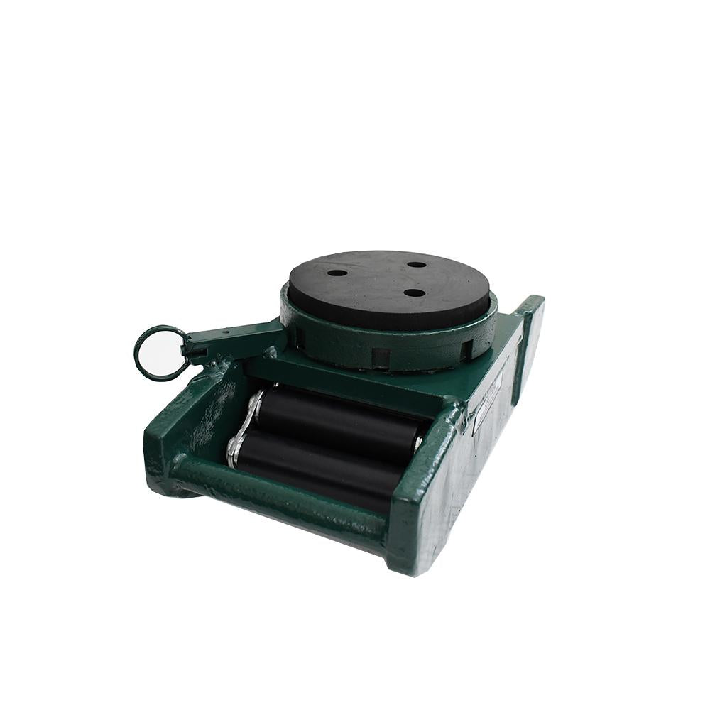 Hilman Nyton 6 Ton Swivel Locking Padded Top Heavy Duty Rollers with Floor Protection