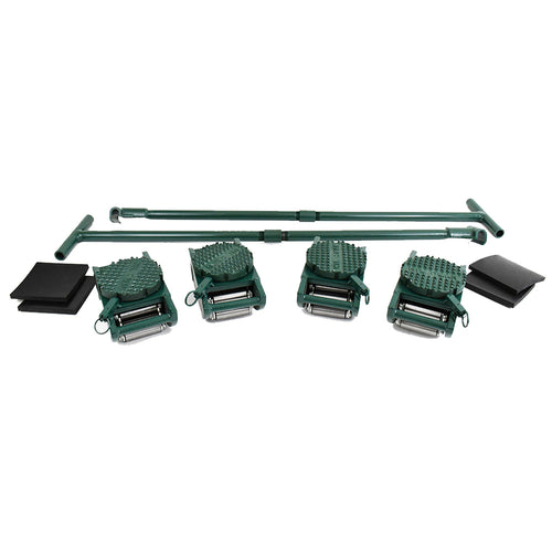 Hilman FT Series Sets 40 Ton Swivel Locking Diamond Top