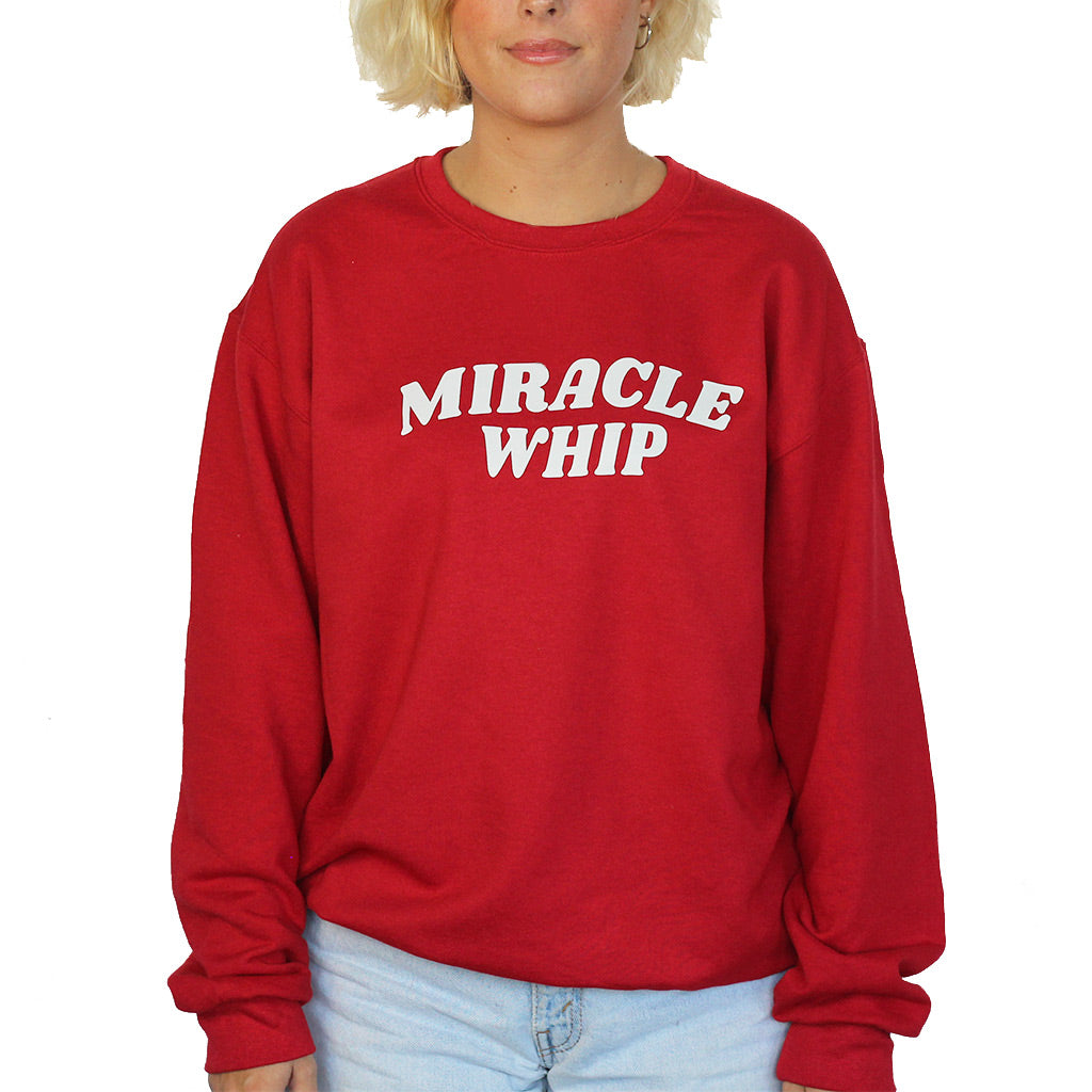 MIRACLE WHIP Crewneck Sweatshirt