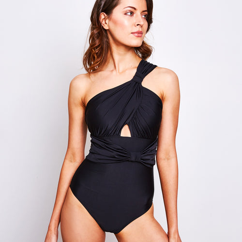 Sharlise One Piece Black | Recycled Plastic