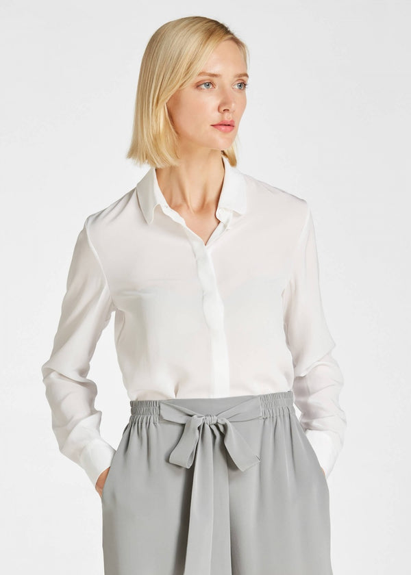 18MM Basic Fresh Silk Shirt
