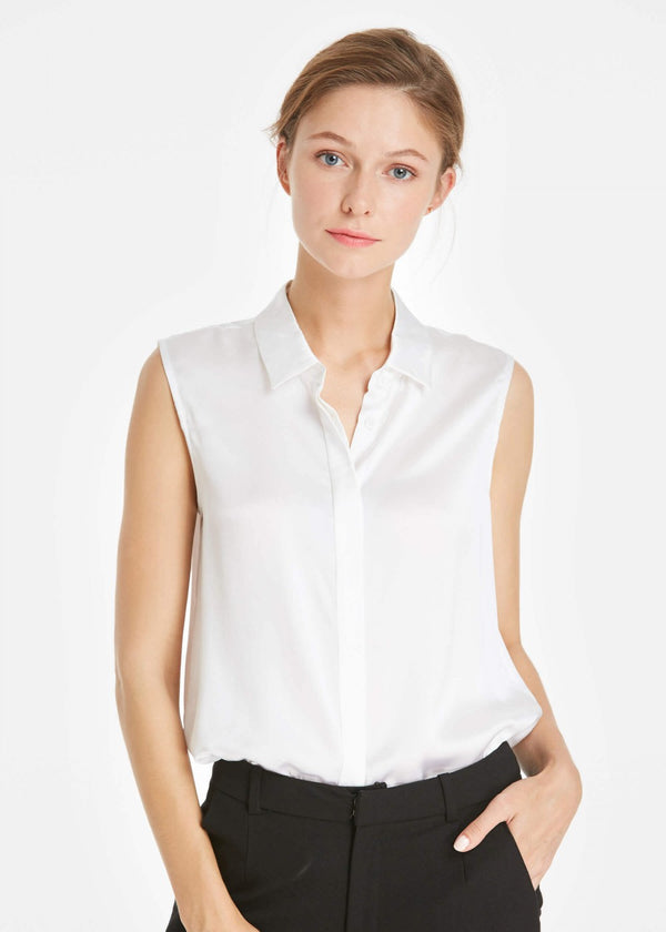 22MM Office Basic Silk Vest Top