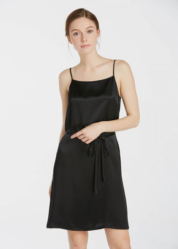 22MM Subtle A Line Silk Camisole Dress