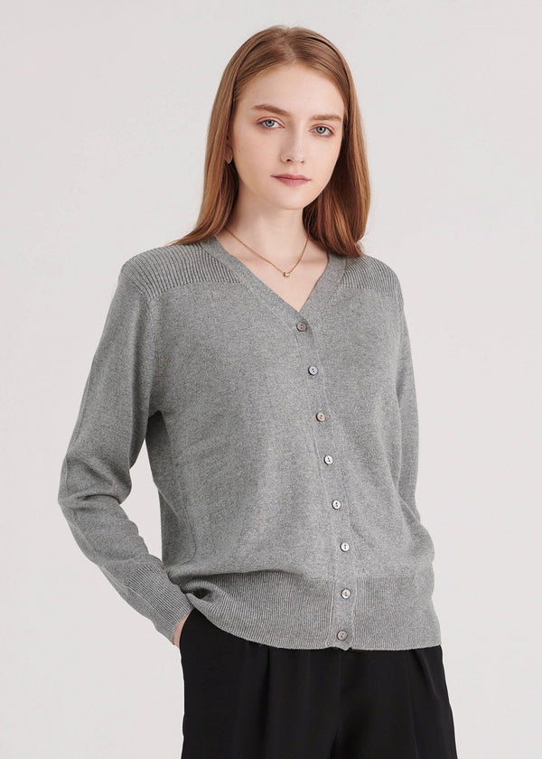 Essential V Neck Cardigan